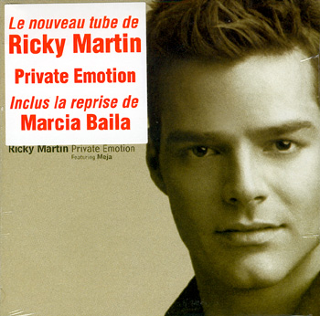 Ricky Martin Private Emotion photo